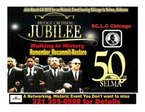 March 8, 2015 Selma, AL