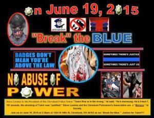 Break The Blue (Cleveleand, Ohio)