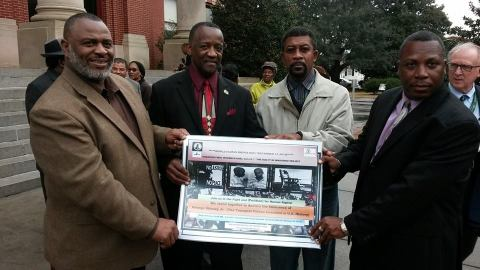 Manning, SC at George Stinney Rally